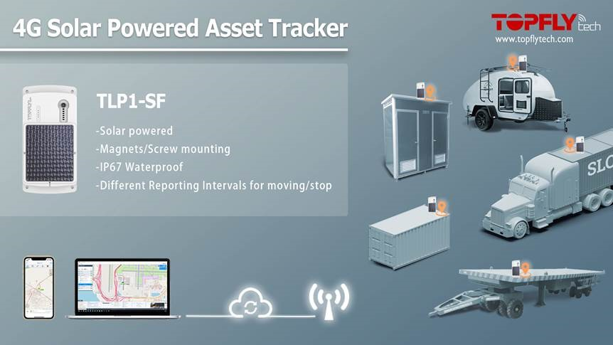 4G Solar Powered Asset Tracker
