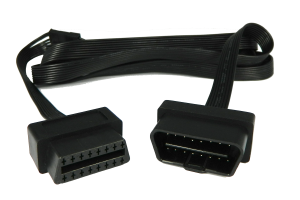 OBDII low-profile extension cable