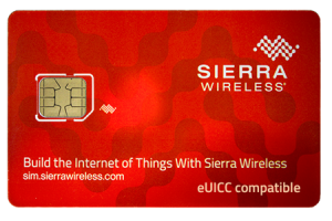 SIM card sierra wireless