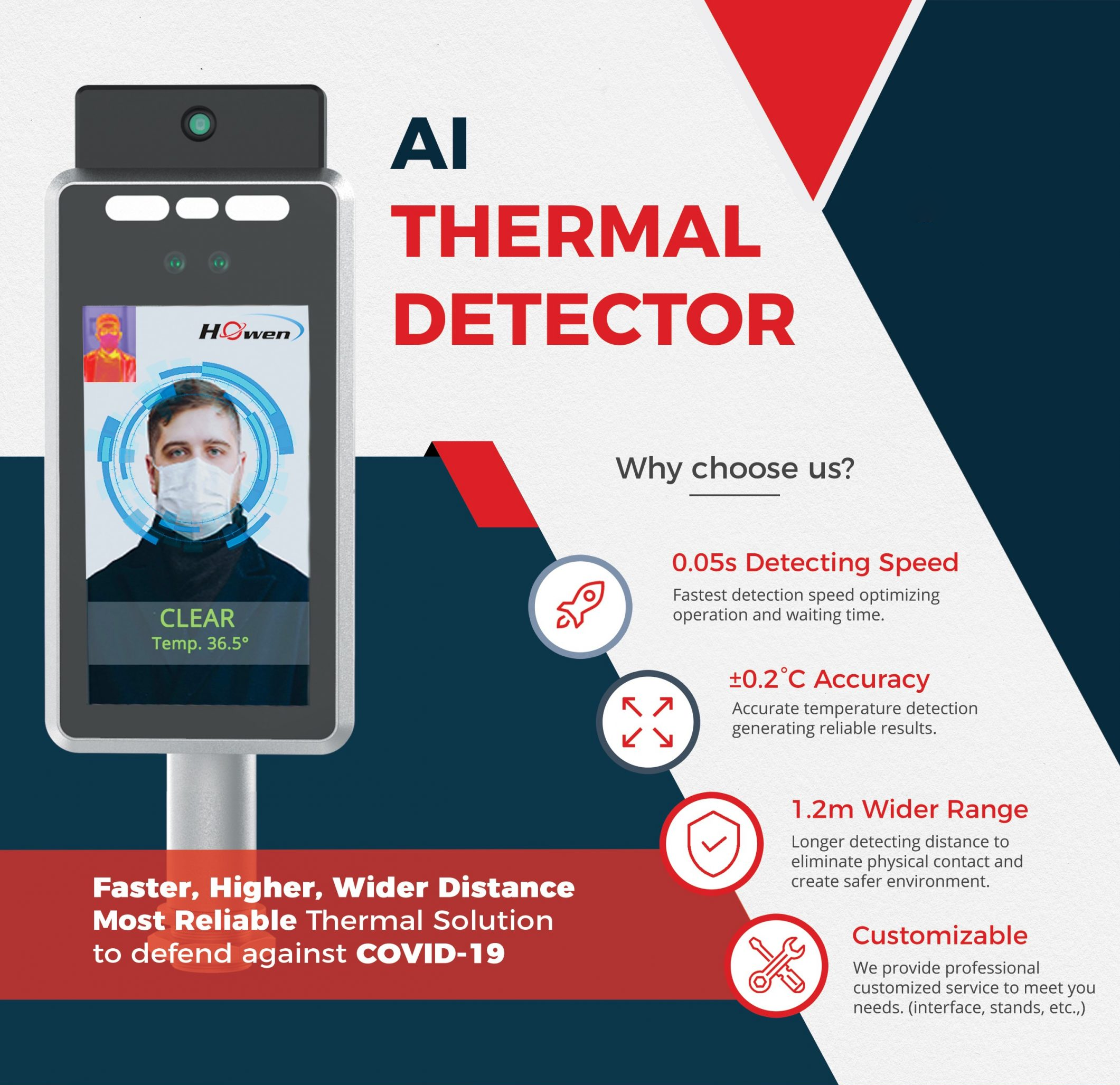 Howen thermal detector flyer